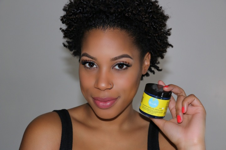The Real on the Blueberry Bliss Curl Control Paste on Type 4 hair!